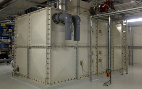 Sectional Water Storage Tanks