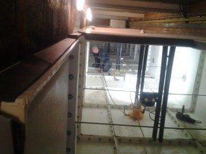 Tannadice Football Stadium Water tank installation project