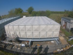 Cross hospital Water Tank Installation