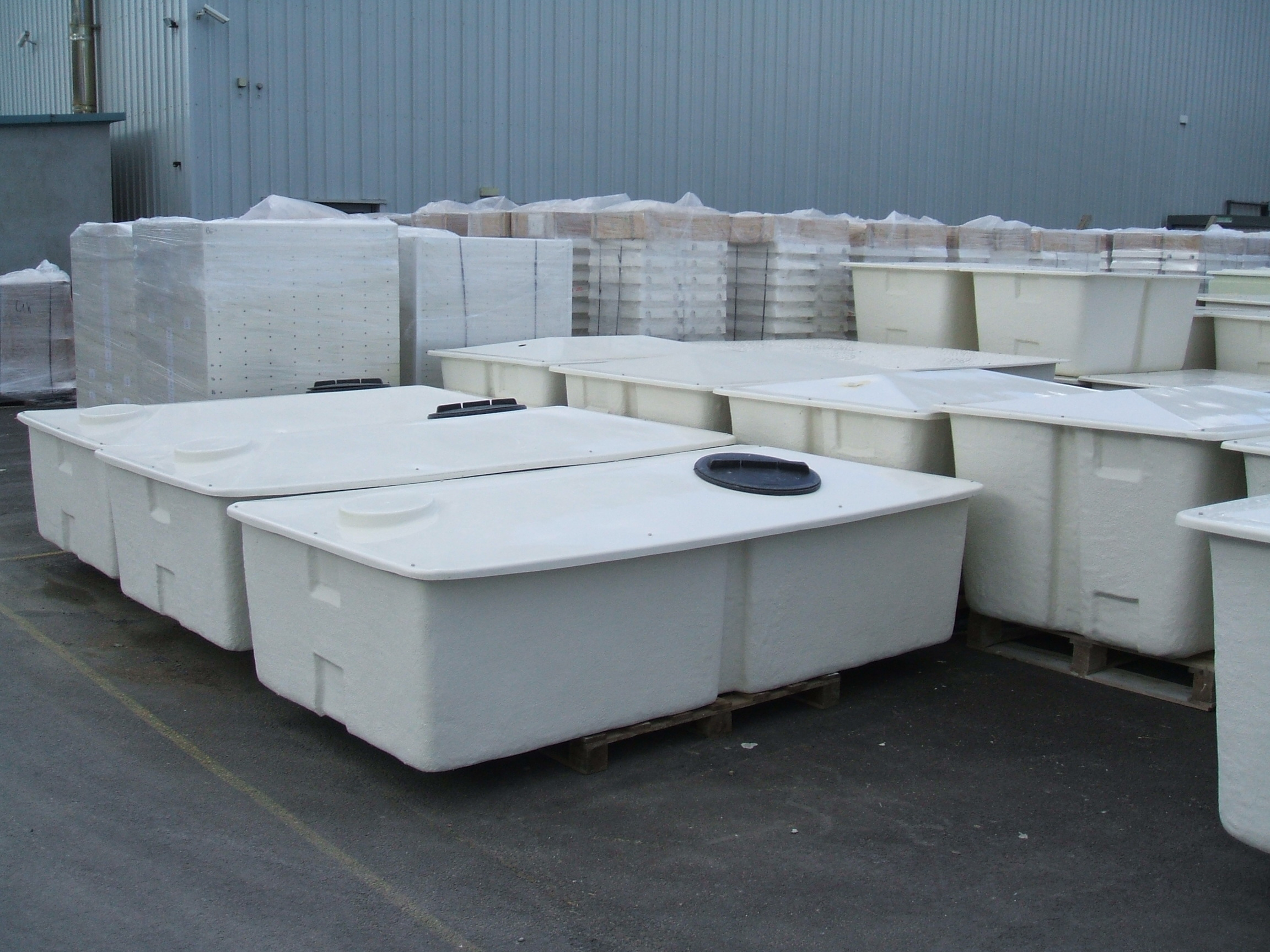 Water Tank Sizes One Piece Sectional Multi Part Tanks