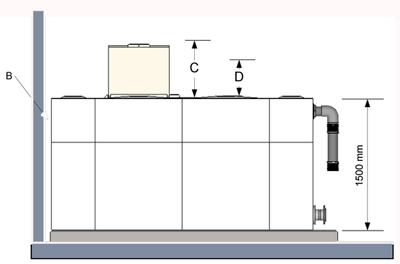 sectional tank drawing TIF-concrete-plinth