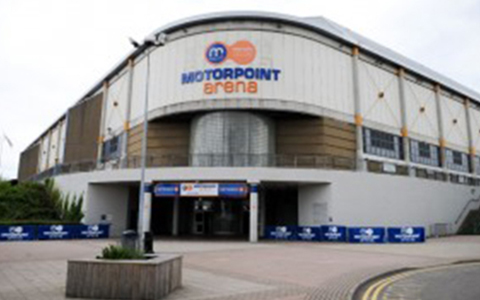 Water Tank Installation at Motorpoint Arena Football Stadium