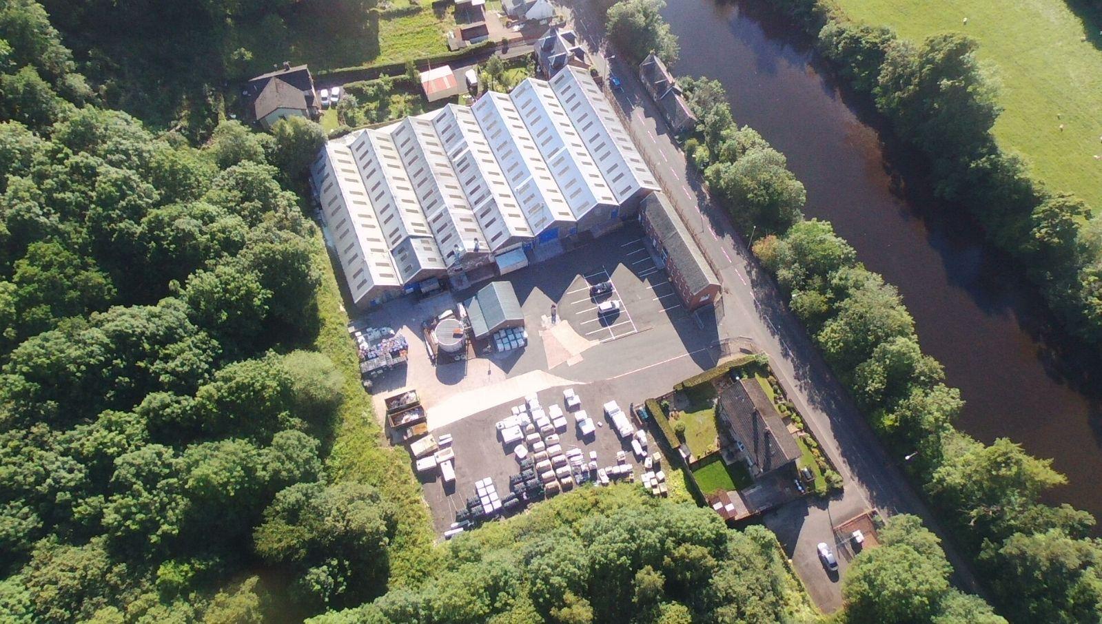 nicholson plastics aerial view