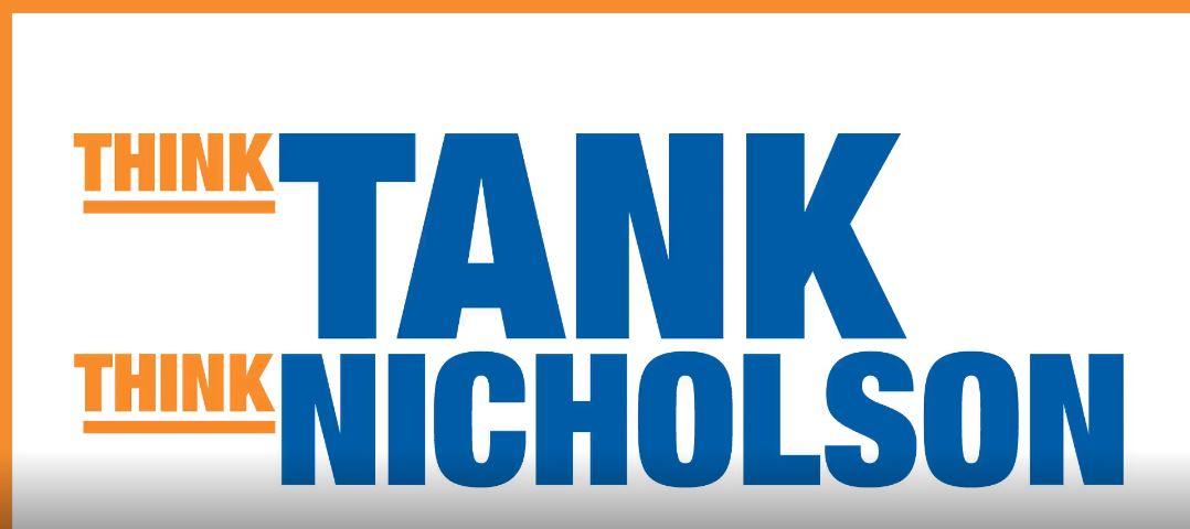 think tank think Nicholson