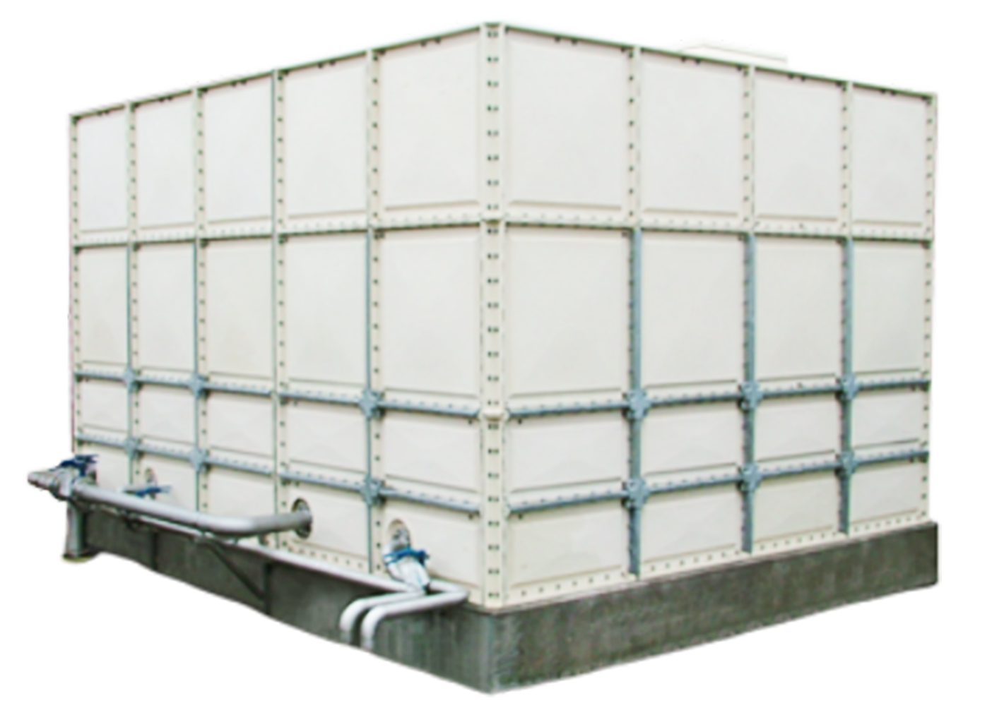 Sectional Cold Water Tank