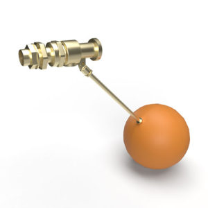 GRP cold water storage tank 1.0 Inlet Ball Valve