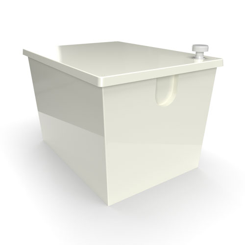 GRP one piece cold water storage tank 460 litre