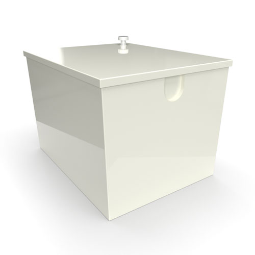 GRP one piece cold water storage tank 680 litre