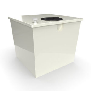 GRP one piece cold water storage tank 1000 litres