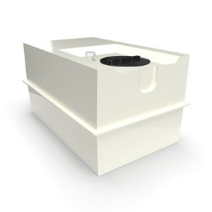 two part grp cold water storage tank 1140 litres