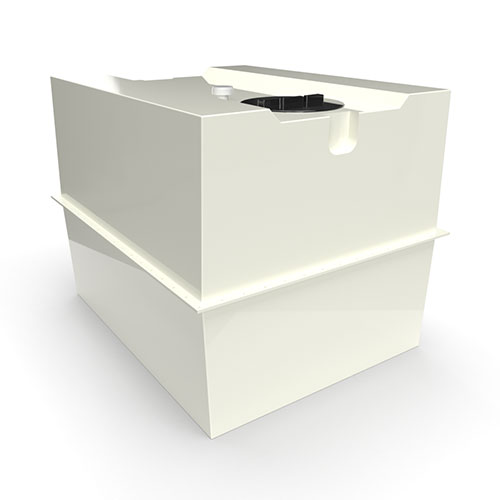 two part grp cold water storage tank 2280 litres