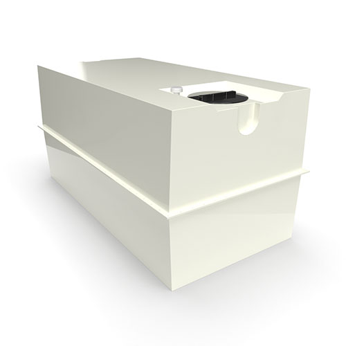 two part grp cold water storage tank 3640 litres
