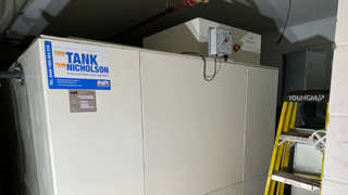 replacement cold water storage tank