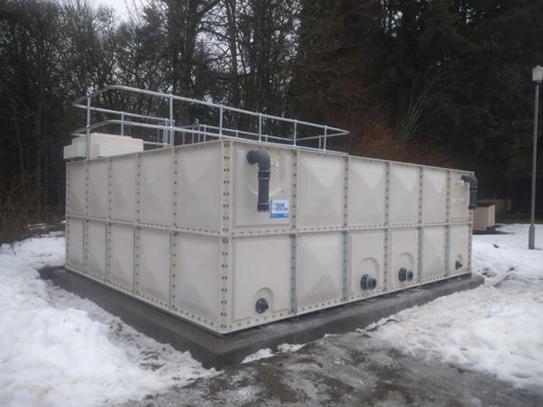 Water Storage Tank Installation